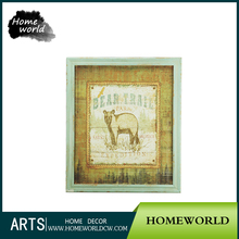 High Quality Bear Cheap Large Painting Picture frame Wholesale For Exhibition