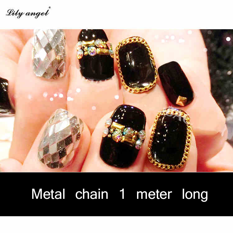 Nail Art Metal Chain ,3d nail art Decoration tools