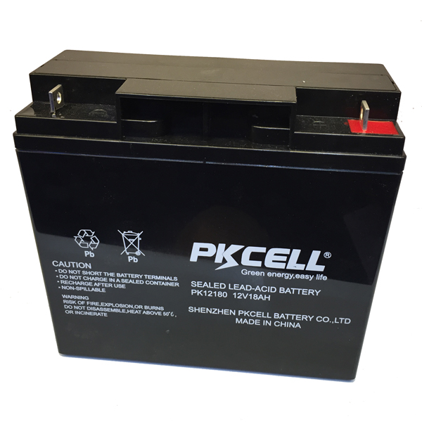 AGM / GEL Sealed Lead Acid Battery 12V 18Ah ARLR UPS Rechargeable Battery