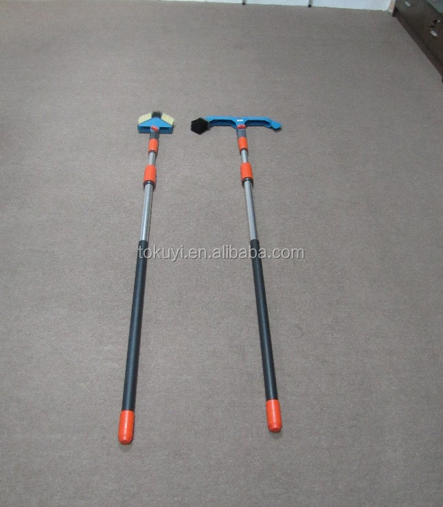 Professional cleaning equipment telescopic gutter cleaner