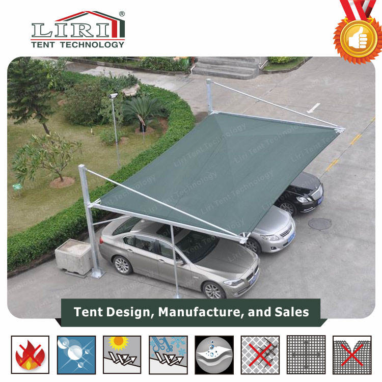 Outdoor Car Canopy Parking Garage Tent For 2 Cars 3 Cars