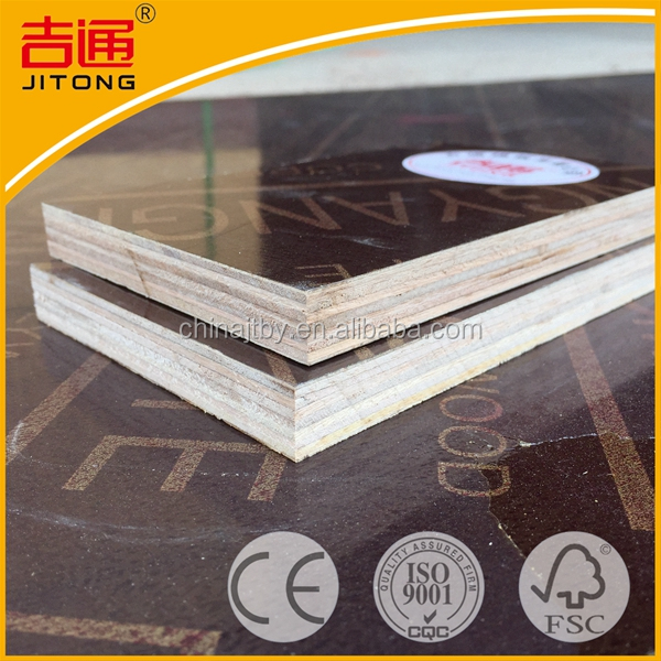 Civil Engineering 4*8 Waterproof Laminated High Gloss Laminate Plywood