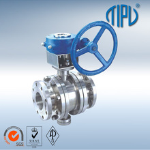 API6D Trunnion Mounted Stainless Steel Ball Valve 3 Piece
