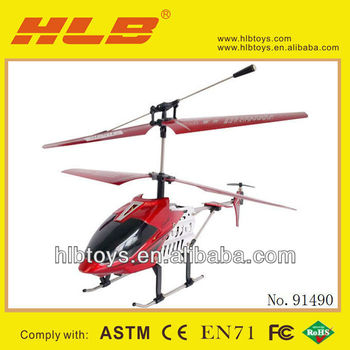 Cheapest Helicopter for Christmas,3CH Metal RC helicopter for sale,Toys-Series Code:HLB85697777