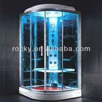 Rocky high quality tempered glass shower room