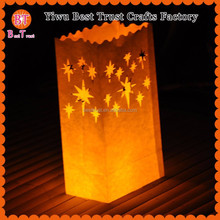 Fireworks design Fireproof wax Chinese wedding decoration handmade indoor illuminating candle bag for wedding Home party decro