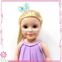 En71 doll rooting hair soft body dongguan manufacturer 18 inch doll with en71