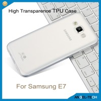 Transparent case cover for samsung galaxy e7 e700