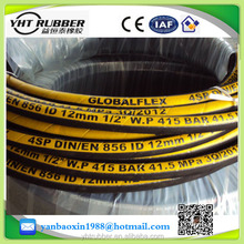 "High temperature 1-1/2"" 38mm Steel Wire High temperature 1-1/2"" 38mm Steel Wire Spiraled Reinforced Rubber Hose for excavater"