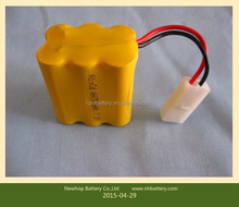Shenzhen ni-cd aa 700mah 7.2v battery nicd rechargeable battery for Solar light