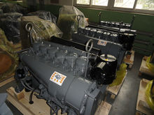 China BF6L913 air cooled 6 cylinders 100 hp diesel engine