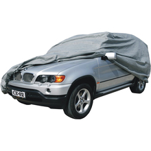 Spun-bonded polypropylene SUV cover with UV protection