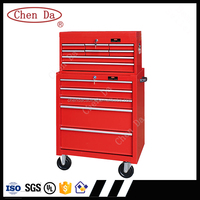 2015 Promotion Multifunction 13 Drawers tool box Roller Cabinet and chest