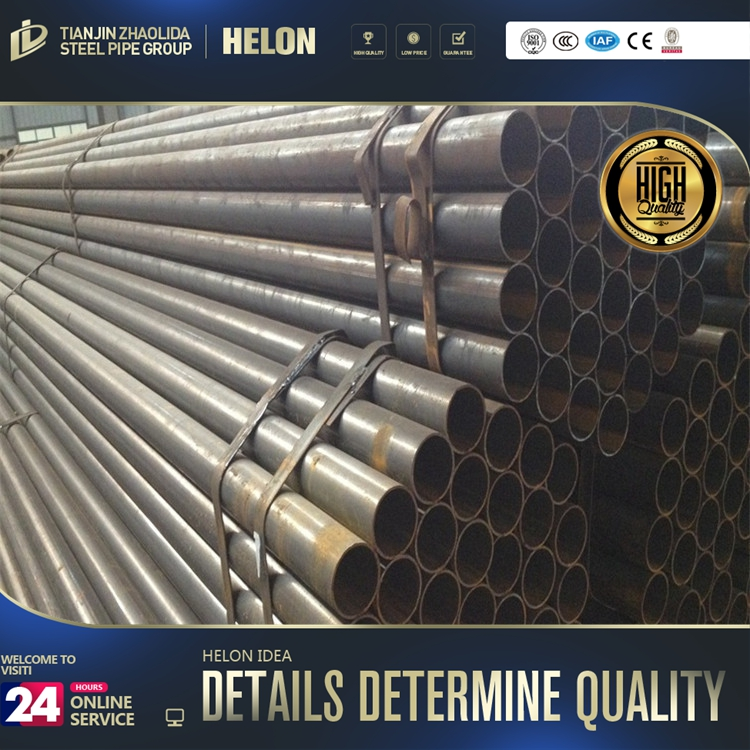 "steel pipe production line ! carbon steel a53 a106 seamless steel tubes 4 1/2"" eu/nu tubing api standard"
