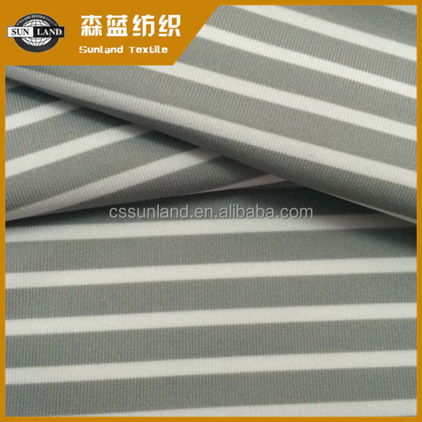 dry fit polyester ammonia moisture wicking printed jersey fabric