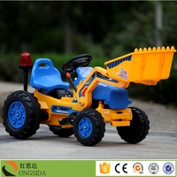 Baby Ride on Car Kids Ride on Toy Excavator for Sale / MINI Tractor