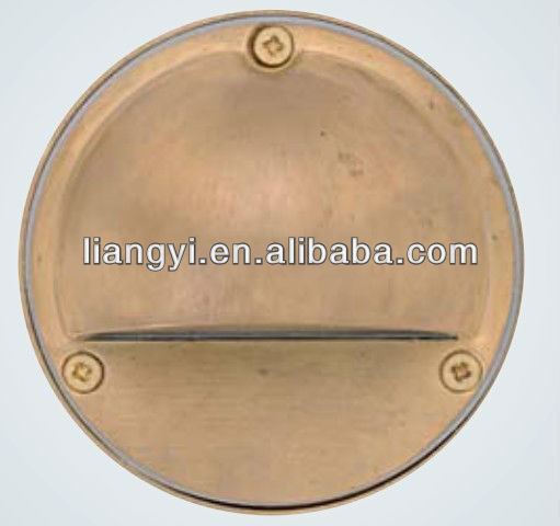 LY2001A-BR Brass surface mounted outdoor led wall light