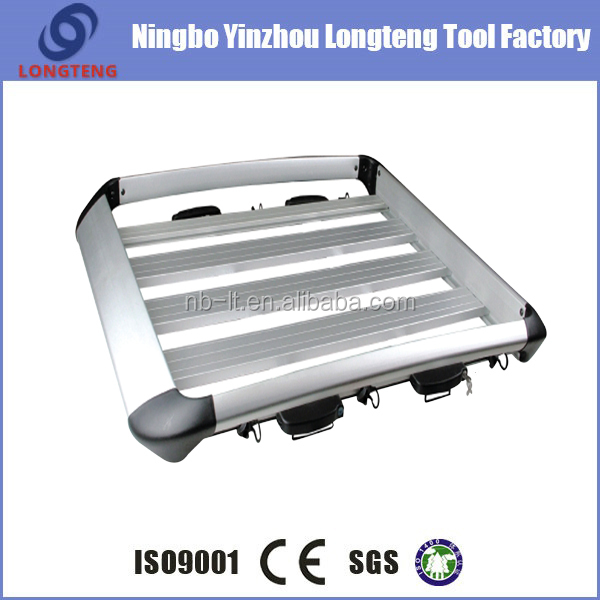 aluminum car roof luggage rack