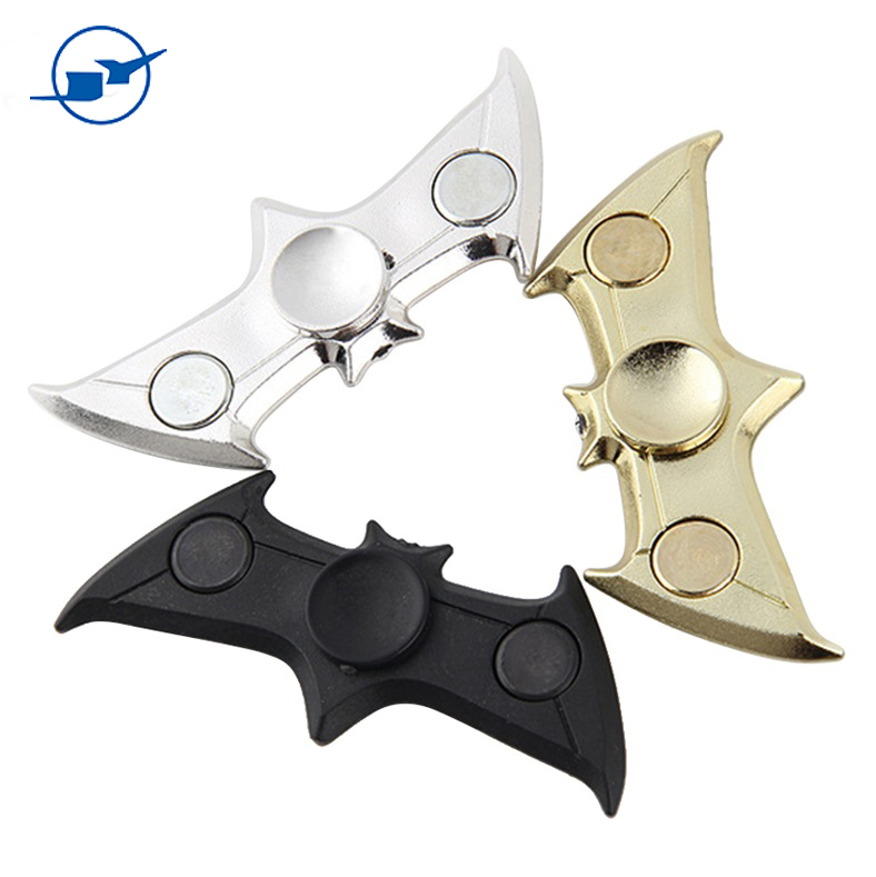 Fidget Spinner Bat Shape Hand Spinner Relieve Stress Fidget Spinner Finger Gyro for Autism Gift and ADHD Friends