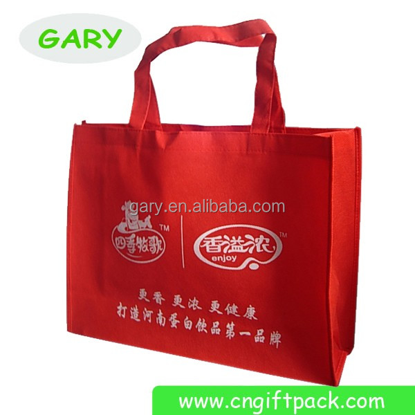 Red Fashion Non Woven Shopping Bag Extra Large Shopping Bag