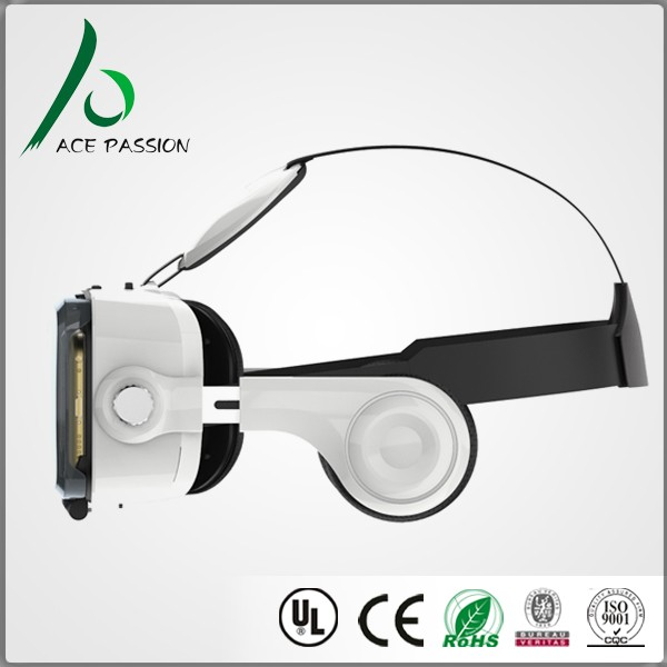 virtul vr 3d vr glasses cardboard accepting private label