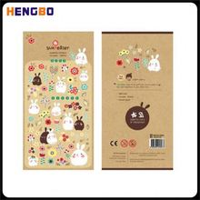 New arrival high quality puffy sticker self adhesive wholesale