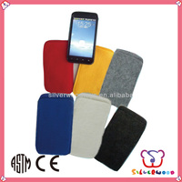 GSV SEDEX Factory eco-friendly portable felt cell phone case manufacturer