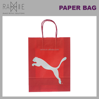 Ramie Hangers Mannequins Racks Paper Products: Highly Durable Retail Kraft Paper Shopping Bag
