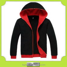 China factory zipper-up xxxl hoodies for men