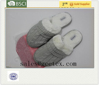 GCE1192 Knitted fabric slipper manufacturer in vietnam