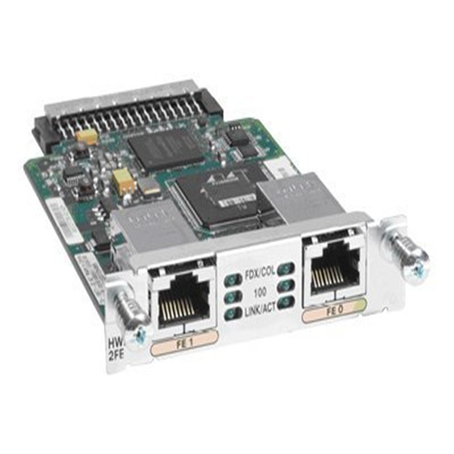 Cisco High Speed WAN LAN Interface Card HWIC-2FE