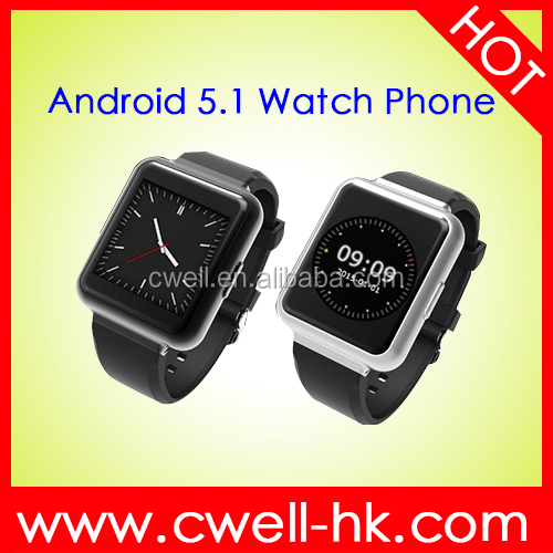 1.54 inch MTK6580 Quad Core 512MB RAM 4GB ROM Metal Body Heart Rate Monitor WiFi GPS 3G Android 3G Watch Phone Smart <strong>Q1</strong>