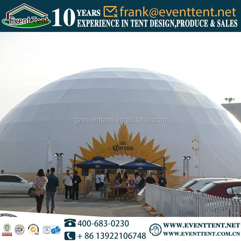 UV protection aluminum alloy geodesic domes in ireland and australia