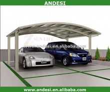 aluminum cantilever car wash canopy for sale