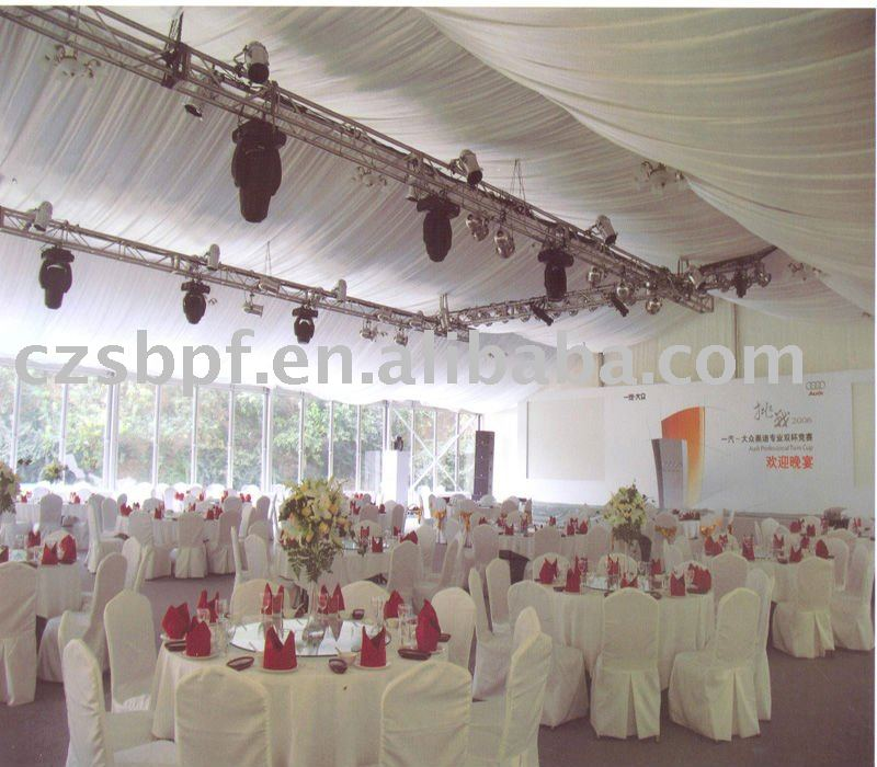 Luxurious Big Romantic Wedding Tent For Sale (18x40m)