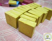 Excellent grade bottle package sealing wax brick/Gold color wine bottle wax with high quality