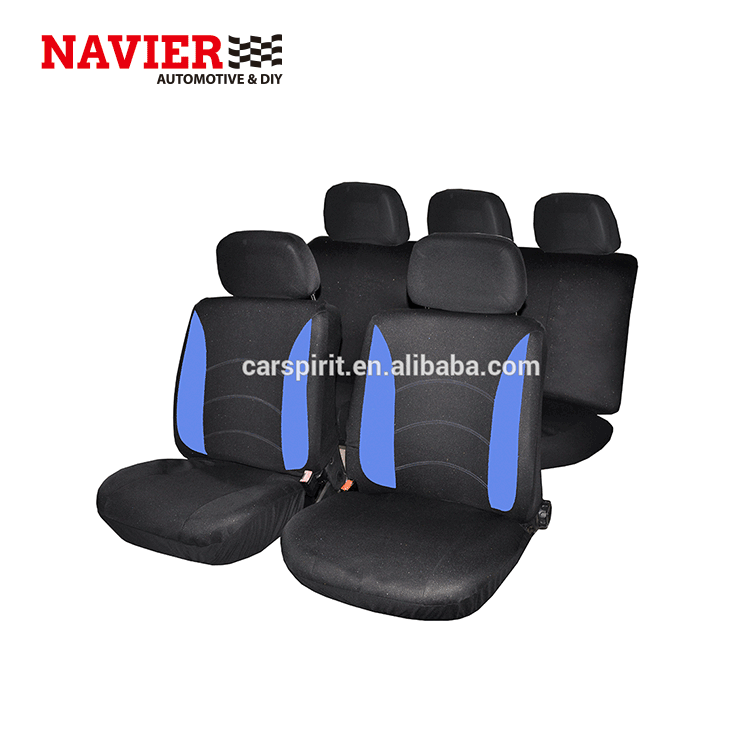 CSC-203 Classic car/auto/vehicle polyester seat cover flat cloth set of 9pcs fit Most Car, Truck, Suv, or Van