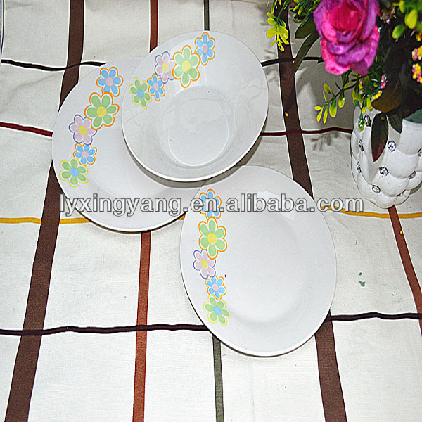LY-D 18pcs tableware manufacturer/english porcelain tableware/new year tableware