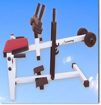 AMA-328 (main frame:50*50*2.0 ) seated calf raise machine, commercial gym exercise equipment