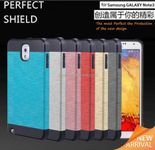 Luxury Soft Silicone +PC Shield Phone Case Cover for Samsung Galaxy Note3 N9000
