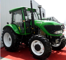 100 hp 4wd farm tractor International Standard 100HP 4WD Farm Tractor hot 4wd agricultural/garden farm tractor 1004