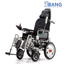 High Quality Customized Reclining Electric Wheelchair Kit Motor with Soft Seat Cushion