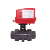 AC220V UPVC 2 way/3 way motorized PVC ball valve price 220V 1.6MPA for home-automation system, swimming pool equipment