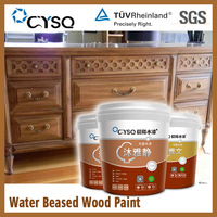 CYSQ Water Based pu wood furniture colored paint