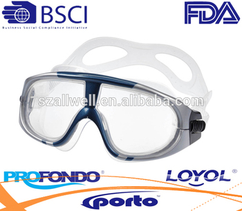 Manufacturer Supplier unisex swimming mask with good quality