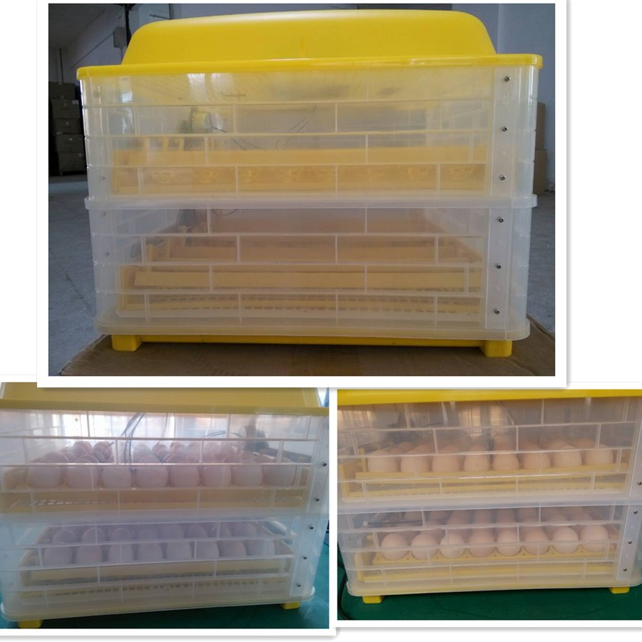 New type 112 chicken hatchery machine solar power egg incubator hatcher for sale