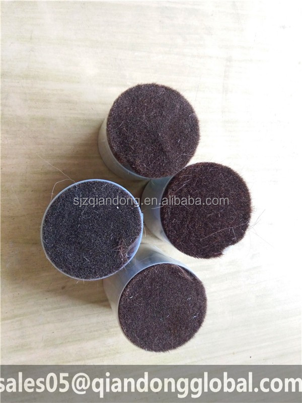 Wholesale cosmetic brush material soft animal hair pony hair