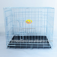 Hot selling Folding Double door galvanised steel wire dog house