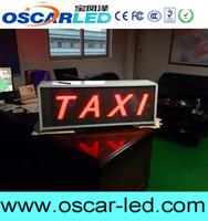 Brand new taxi top advertising led display free video x china with low price