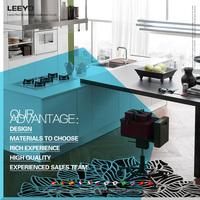 Australian standard white customized kitchen cabinets, kitchen furniture for sale